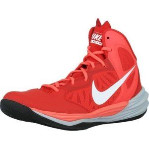 NWOT: Nike Prime Hype Df Red Basketball Shoe